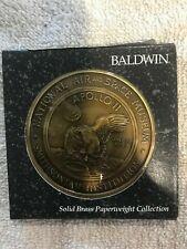 Baldwin Apollo 11 Paperweight