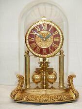 Scarce Kern Midget 400 Day Guilt Anniversary Mantle Mantel Carriage Clock