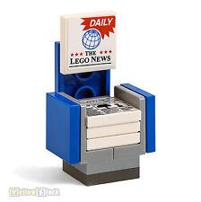 LEGO® City Zeitungs-Stand Verkauf The Lego News Newspaper für Kiosk oder Bahnhof