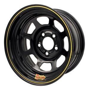 Aero Race Wheels - 50-Series - 15x10 - 2in BS - 5x4.75 - Steel - Black
