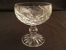 "SINGLE WATERFORD DONEGAL CHAMPAGNE SHERBET GLASS  4 3/8"" H MULTIPLE AVAILABLE"