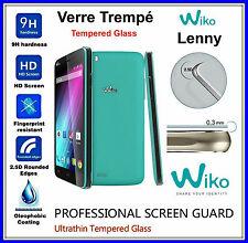 WIKO LENNY Tempered Glass Vitre de protection d'écran en VERRE TREMPE