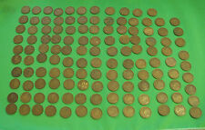 128 x Canada Large cent circulated 1911 1912 1914 1915 1916 1917 1918 1919 1920
