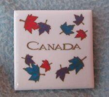Leaves Canada Tile Magnet, Souvenir, Travel, Refrigerator