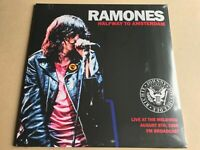 RAMONES  HALFWAY TO AMSTERDAM LIVE AT THE MELKWEG  1986  FM BROADCAST VINYL LP