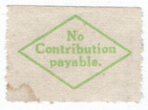 (I.B) George V Revenue : Unemployment Insurance (No Contribution)