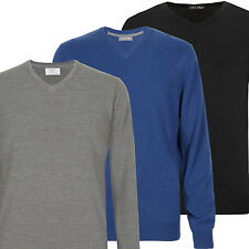 b0e00ca457c Marks and Spencer Men's Thin Knit V Neck Jumpers & Cardigans for ...