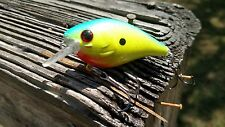 LUCKYCRAFT STYLE RC1.5 CUSTOM PAINTED CRANKBAIT FISHING LURE CHART/BLUE SWIMBAIT