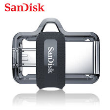 SanDisk 256G Ultra Dual Drive micro USB 3.0 / USB 3.0 up to 150MBs with Tracking