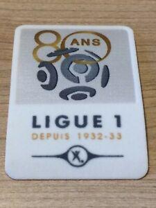 Exclu Patch Badge Ligue 1 LFP anniversaire 80 ans saison 2012-2013 vendeur pro