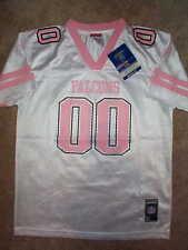 e35cd6f9a PINK Atlanta Falcons  00 nfl REEBOK Jersey YOUTH KIDS  GIRLS  m-medium