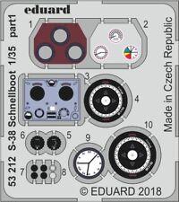 Eduard 1/35 SCHNELLBOOT S-38 Set Dettaglio # 53212