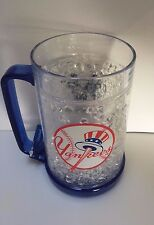 New York Yankees MLB Crystal Mug Acrylic Freezer Beer Cup Tumbler Holder Judge