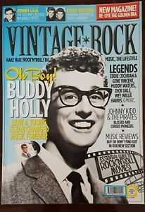 Vintage Rock magazine issue 2 -NEW Buddy Holly, Johnny Kidd + Pirates, Dick Dale