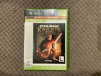 Star Wars Knights of the Old Republic Xbox Game Complete  PAL AU Release VGC