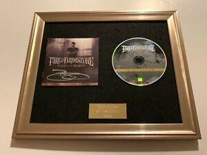 SIGNED/AUTOGRAPHED BRANTLEY GILBERT - FIRE & BRIMSTONE FRAMED CD PRESENTATION
