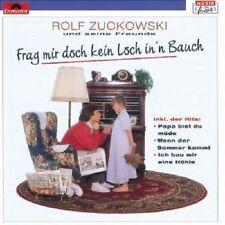 """ROLF ZUCKOWSKI """"FRAG MIR DOCH KEIN LOCH IN'N BAUCH"""" CD"""
