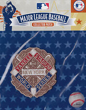 1939 WORLD SERIES NEW YORK YANKEES OFFICIAL MLB BASEBALL PATCH MINT IN PACK