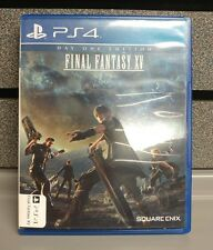 FInal Fantasy XV Day One Edition | PS4 |+Valid Masamune DLC | TESTED |Ships Fasi