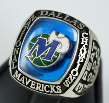 1999 DALLAS MAVERICK NWBA BASKETBALL CHAMPIONSHIP PLAYERS RING 10K GOLD - NR
