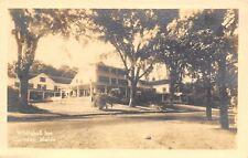 Camden Maine~Whitehall Inn Hotel~Below Mt Battie~1930s Real Photo Postcard