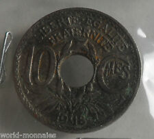 10 centimes lindauer 1918 : B : pièce de monnaie française