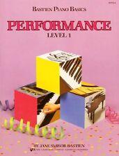 WP211 - Bastien Piano Basics - Performance Level 1