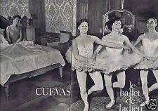 Coupure de presse Clipping 1961 Georges  marquis de Cuevas   (6 pages)
