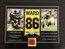 HINES WARD PITTSBURGH STEELERS 3 RIVERS STADIUM SEAT 8 X 10 COA