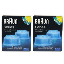 Braun CCR4 Cleaner Refill Kit/Clean $ Renew CCR 4-Pack /GENUINE