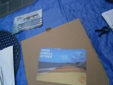 Catalogue pub auto prospectus voiture Toyota Corola Lift Back