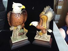 Pair of Eagle Figurines