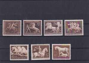 1938 - 1945 ALLE braunen Bänder  Postfrisch ** MNH