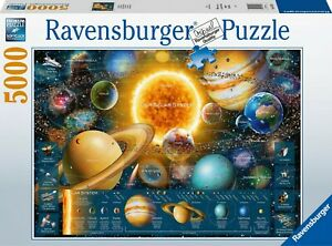 Ravensburger Space Odyssey 5000 Piece Puzzle - Brand NEW sealed - RARE