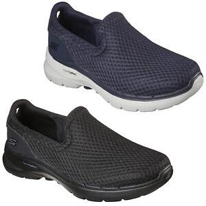 Skechers Mens GoWalk Trainers Slip On Lightweight Walking Comfort Shoes Sneakers