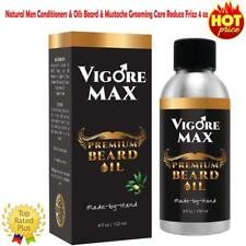 Natural Men Conditioners & Oils Beard & Mustache Grooming Care Reduce Frizz 4 oz