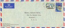 1965 Kuala Lumpur Selangor Malaysia Mike Kelly Golf Club cover to US
