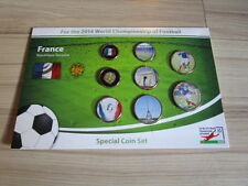 KMS Special coin set France World Cup 2014 NEW RARE