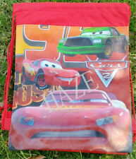 Disney Car Kids Drawstring Backpack Girl's School Sling Tote Gym Bag