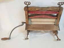 ANTIQUE LOVELL MFG CO ERIE PA ANCHOR BRAND #1924 HAND-CRANK CLOTHES WRINGER