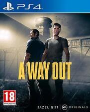 Ein Ausweg Playstation 4 ps4 & ps5 kompatibel Gefängnis entkommen 2 Spieler Coop-Spaß
