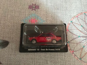 Voiture Miniature Renault 18 Tour de France 1979 Catch Norev au 1/43