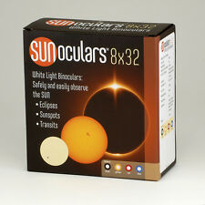 Solar Viewing Binoculars (Red). View the transit of Mercury and Solar Eclipse