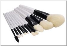 10 un. Conjunto de Pinceles para Maquillaje Profesional Kit de Herramientas de Maquillaje esencial sin derramar