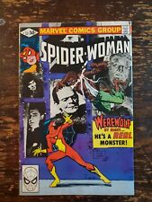 New listing  Spider-Woman #32 FN Frank Miller Cover Art Werewolf By Night Cinema Monsters