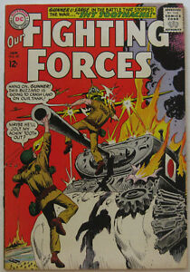 Our Fighting Forces #89 (Jan 1965, DC), FN condition