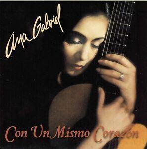 Ana Gabriel : Con Un Mismo Corazon CD (Bonus Edition with extra track)