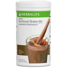 20% off HERBALIFE HEALTHY NUTRITIONAL SHAKE MIX DUTCH CHOCOLATE BE FIT FREE SHIP