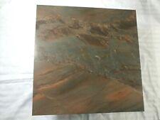 Granite Cutting Board counter board red brown wave swirl 12x12 Arizona Desert