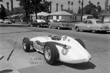 Watson Roadster Indianapolis 500 Mile race 1963 A.J. Watson auto racing photo